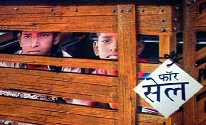 भागलपुर में मानव तस्कर के चंगुल से मुक्त हुए दो बच्चे