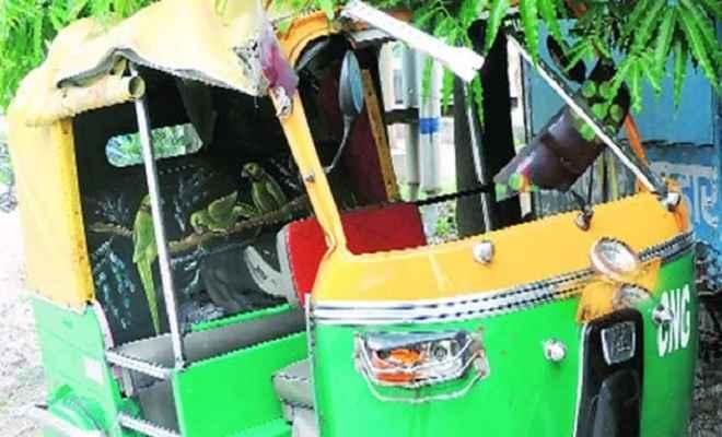 ऑटो रिक्शा पलटने से एक व्यक्ति की मौत