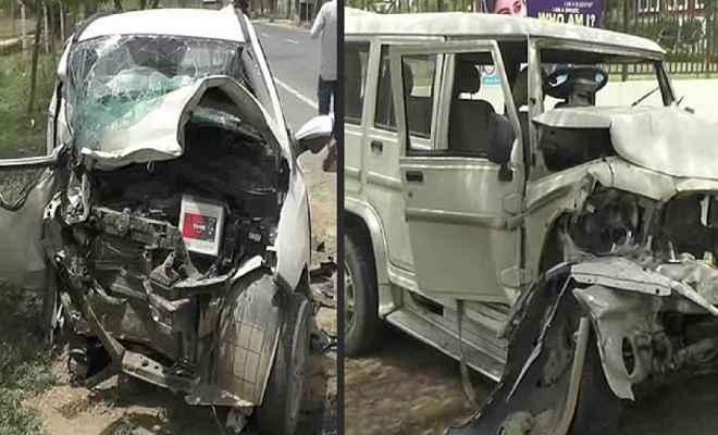 सड़क दुर्घटना में मृतकों के परिजनों को दी गई सहायता राशि