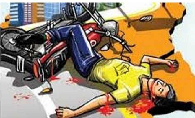 बांका में बाइक हादसे में परीक्षार्थी की मौत
