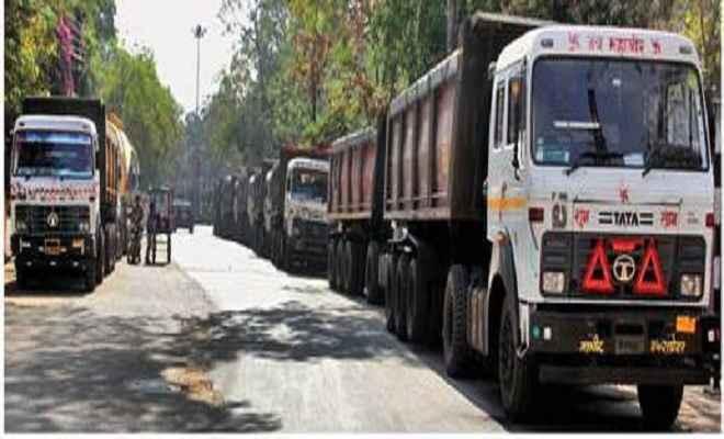 चतरा में कोयला वाहनों पर प्रशासन ने लगाई नो इंट्री