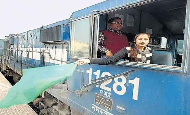 अंतरराष्ट्रीय महिला दिवस बिहार की बेटी ने चलाया ट्रेन