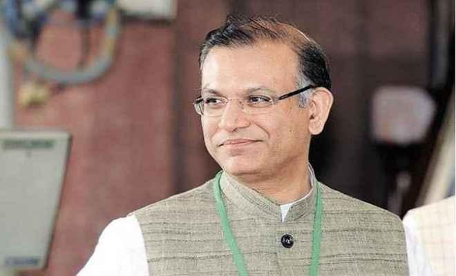मंत्री जयंत सिन्हा ने योगी और रावत को बधाई दी