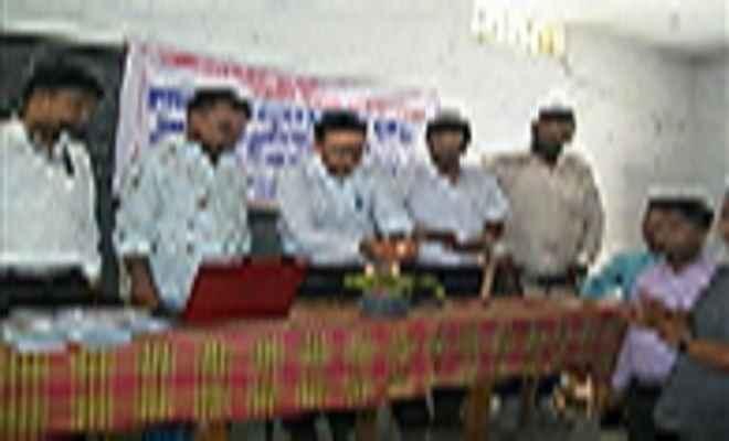 सीवान के हसनपुरा में स्टूडेंट क्रेडिट कार्ड शिविर का आयोजन