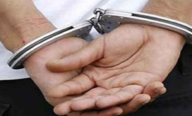 पंचायत सेवक घूस लेते गिरफ्तार