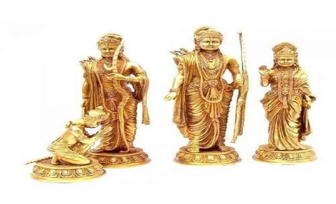 पंच धातु की मूर्ति बरामदगी से पूर्व सांसद ने जताई खुशी