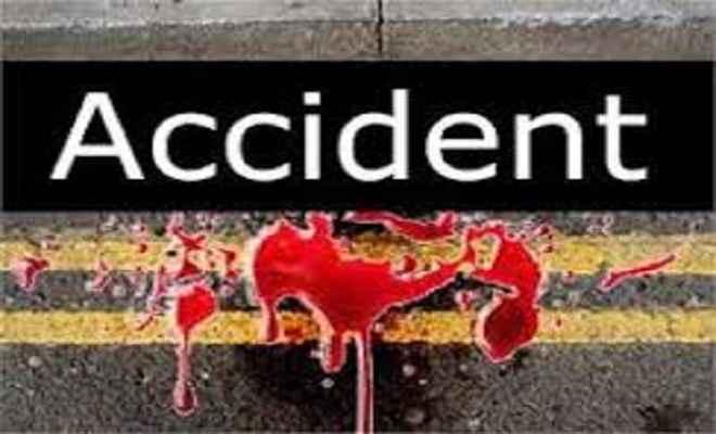 सड़क दुर्घटना में एक की मौत