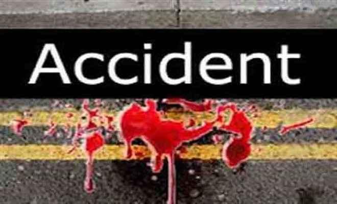 सड़क दुर्घटना में जीजा-साला घायल