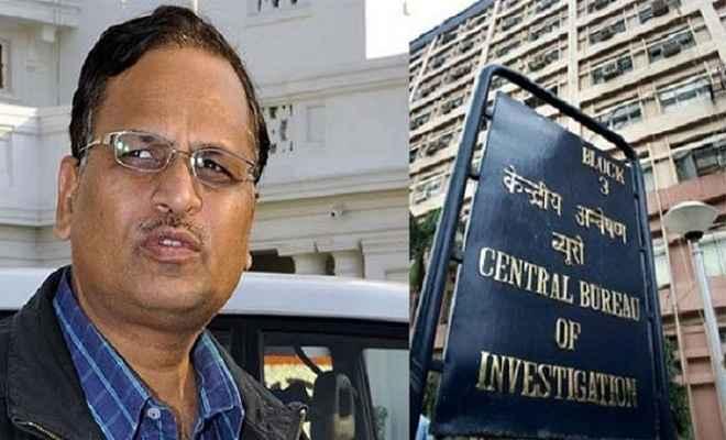 दिल्ली के मंत्री सत्येंद्र जैन से सीबीआई की पूछताछ जारी