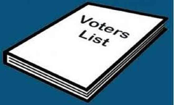 छूटे हुए नामों को 20 अगस्त तक मतदाता सूची में जुड़ेंगे