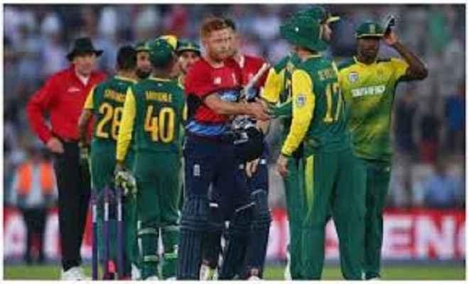 दक्षिण अफ्रीका ने दूसरे टी-20 में इंग्लैंड को तीन रन से हराया
