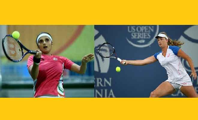 सानिया-वेंडेवेगे की जोड़ी एगोन टेनिस के सेमीफाइनल में
