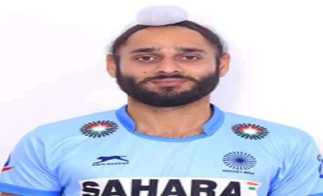 हॉकी खिलाड़ी सतबीर सिंह ने पूरे किये 50 अंतरराष्ट्रीय मैच