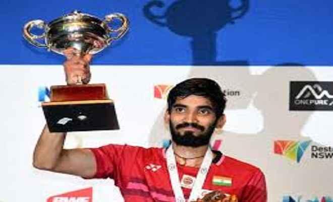 किदाम्बी श्रीकांत का दिल्ली में स्वागत एवं सम्मान करेंगे खेल मंत्री