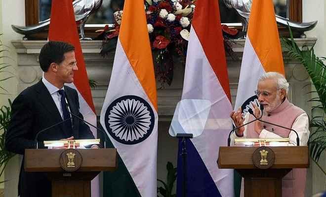 भारत का स्वाभाविक साझेदार है नीदरलैंड: प्रधानमंत्री मोदी