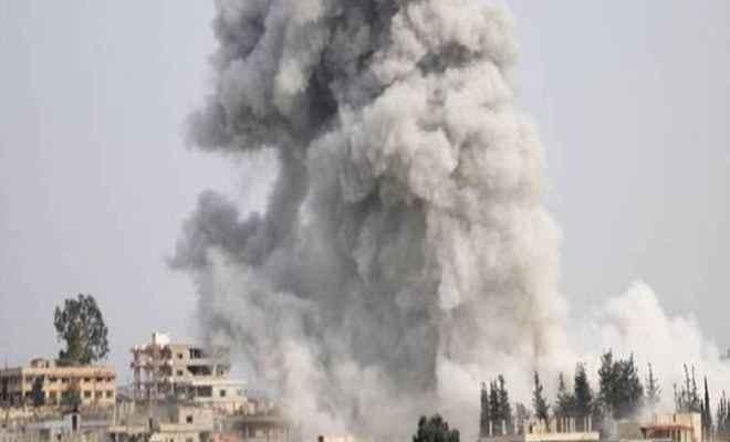 सीरिया में जेहादियों की जेल पर हवाई हमला, 60 लोगों की मौत