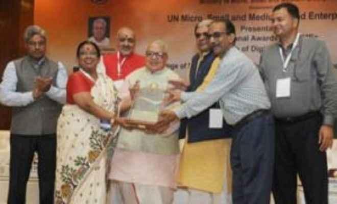 कलराज मिश्र ने बांटे राष्ट्रीय एमएसएमई पुरस्कार - 2015