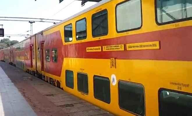 लखनऊ से जयपुर के लिए जुलाई में चलेगी डबल डेकर ट्रेन