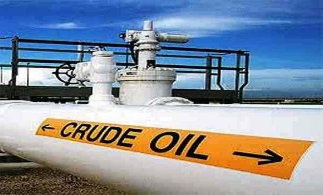 कच्चे तेल की कीमतों में उछाल