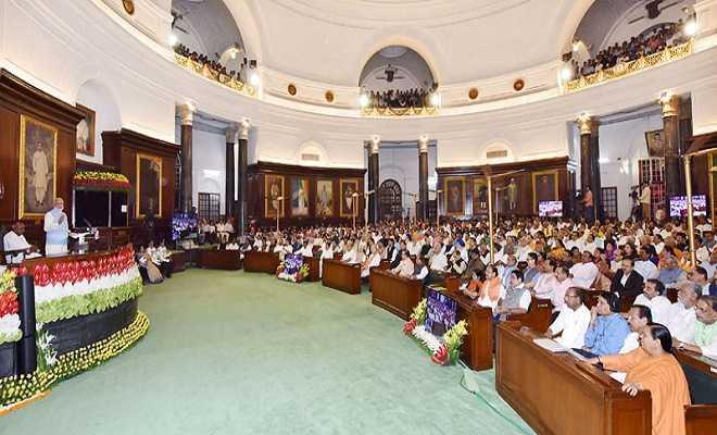 संसद के सेंट्रल हॉल में आयोजित कार्यक्रम