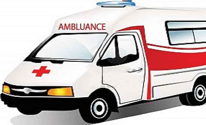 सदर अस्पताल में एक ही एम्बुलेंस से ढोए जाते हैं मरीज और शव