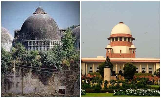 सुप्रीम कोर्ट अयोध्या विवाद पर जल्द सुनवाई को राजी