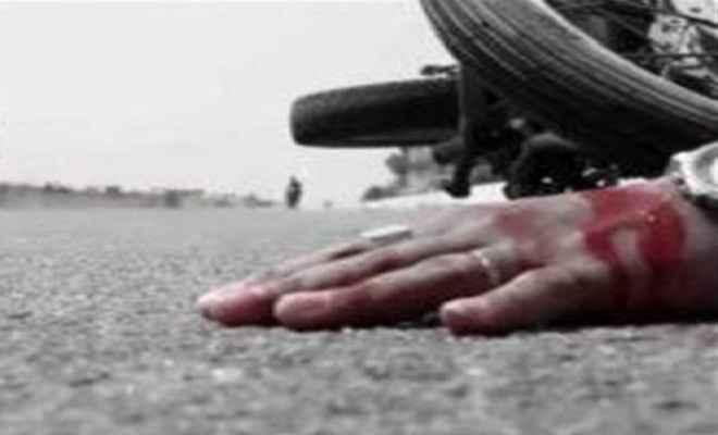 सड़क हादसे में युवक की मौत