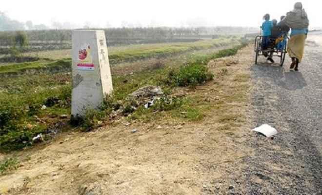 गलगलिया तक सड़क बनने से सीमावर्ती जिलों की बदलेगी तस्वीर