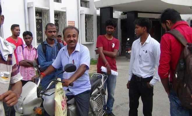 बिहार विश्वविद्यालय पिछले नौ दिनों से लगातार ठप