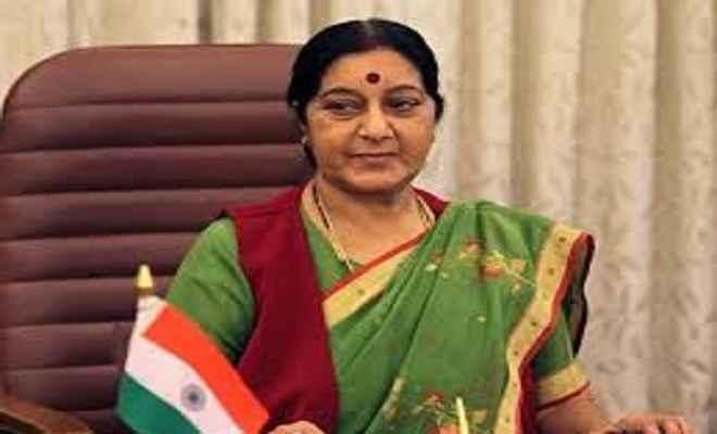 सुषमा स्वराज आज भूटान के विदेश मंत्री से करेंगी मुलाकात