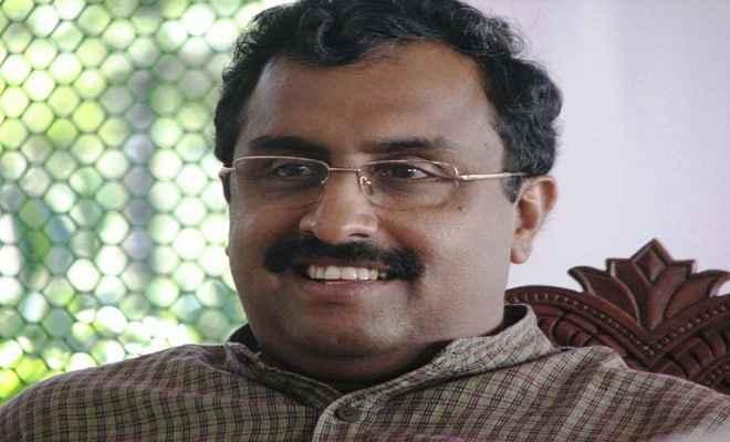 अनुच्छेद 35ए का कानूनी समाधान खोजने की आवश्यकता : राम माधव