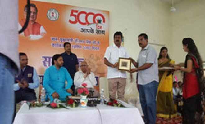 रमन के कार्यकाल में विकास की गंगा बही : संजय श्रीवास्तव