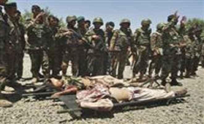 अफगानिस्तान में 17 आतंकी ढेर