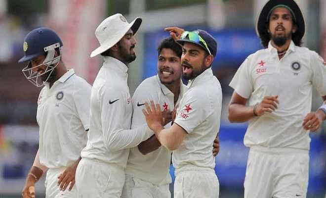 भारत क्लीन स्वीप की ओर, दूसरी पारी में श्रीलंका की खराब शुरुआत
