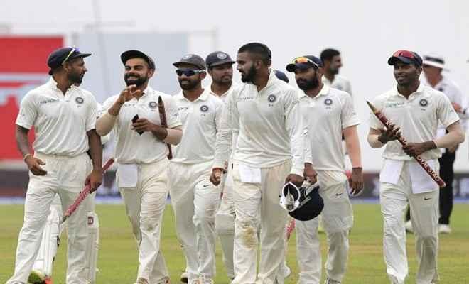 विदेशी जमीन पर पहली बार भारत ने किया टेस्ट सीरीज में क्लीन स्वीप