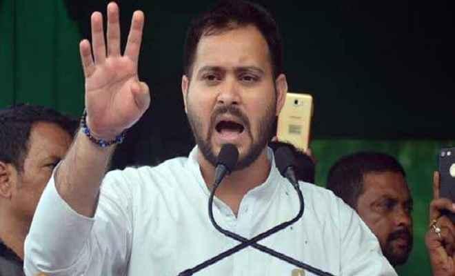 तेजस्वी यादव ने की जनाक्रोश रैली, नीतीश पर बरसे