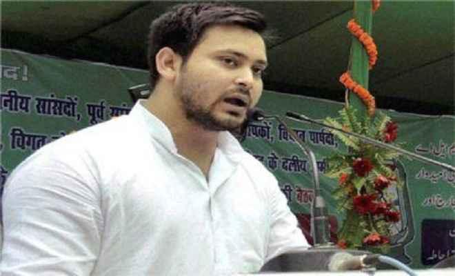 नीतीश कुमार को जनता सबक सिखाएगी : तेजस्वी