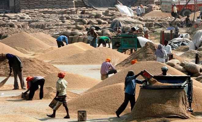चौथे अग्रिम अनुमान में देश में कुल खाद्यान्न उत्पादन 275.68 मिलियन टन