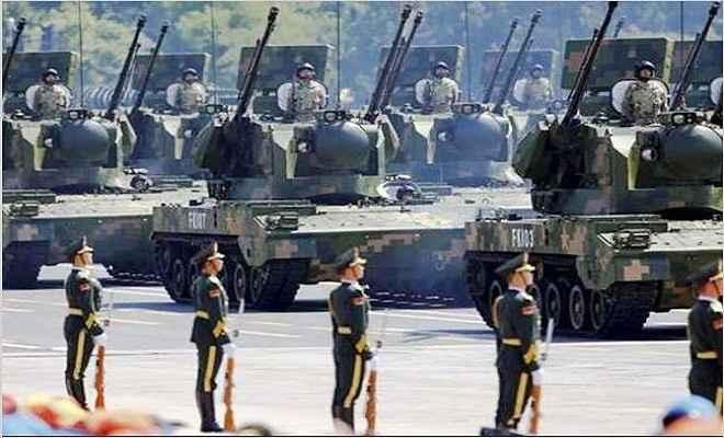 भारत से युद्ध की तैयारी में जुटा चीन