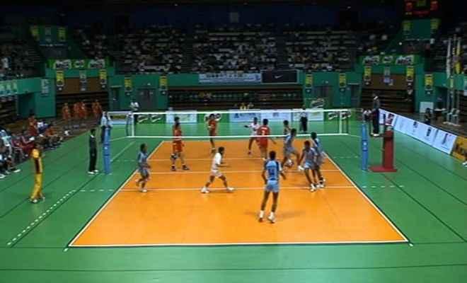 गंदोह में मैत्रीपूर्ण वॉलीबॉल मैच का आयोजन