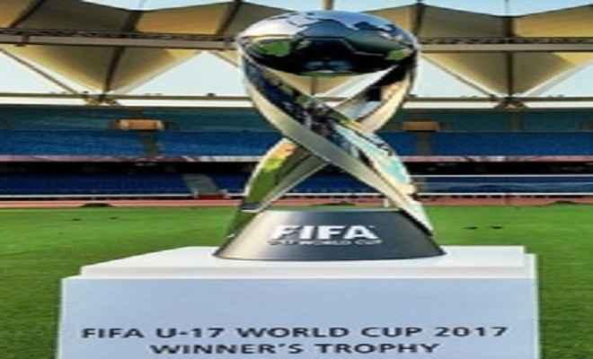 दो दिन और राजधानी में रहेगी फीफा अंडर-17 विश्व कप ट्राफी