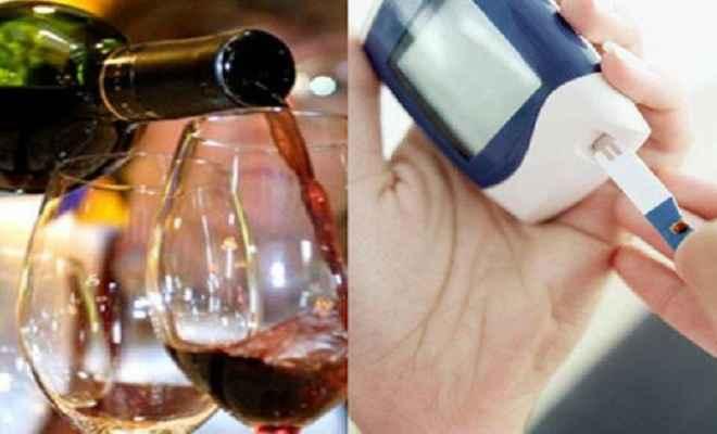 'शराब पीने से कम होता है डायबिटीज का खतराश'