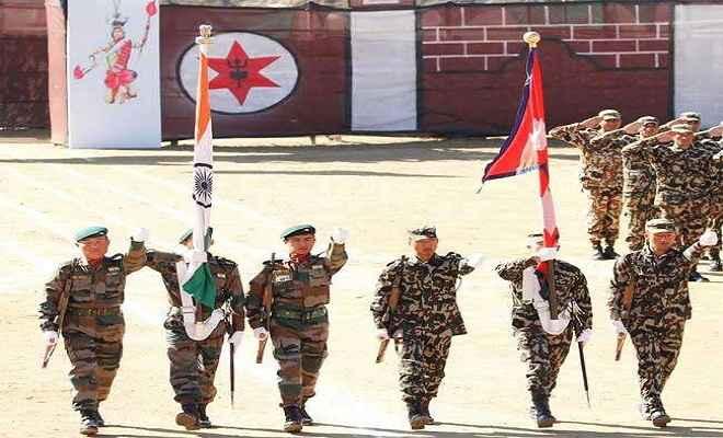 भारत-नेपाल का संयुक्त सैन्य अभ्यास शुरू