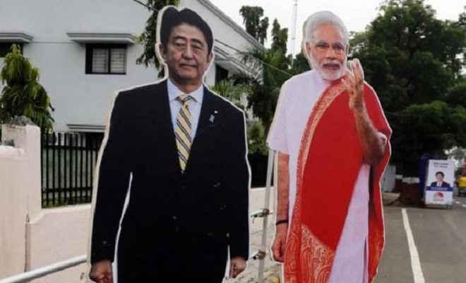 आज भारत पहुंचेंगे जापानी पीएम शिंजो आबे