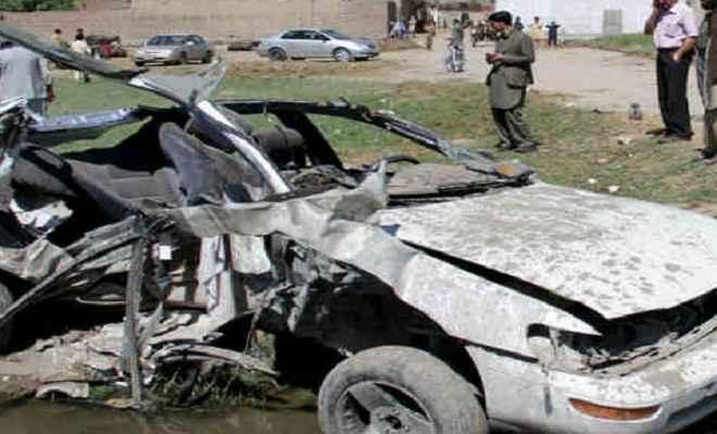 पाकिस्तान में सड़क हादसे में 14 लोगों की मौत