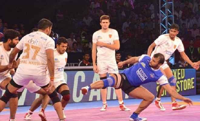 हरियाणा ने दबंग दिल्ली को हराया
