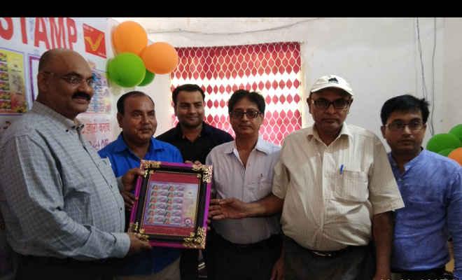 पीएमजी ने शुभांरभ किया मोतिहारी में 'माई स्टांप' काउंटर, बनावाइए अपनी तस्वीर का डाक टिकट