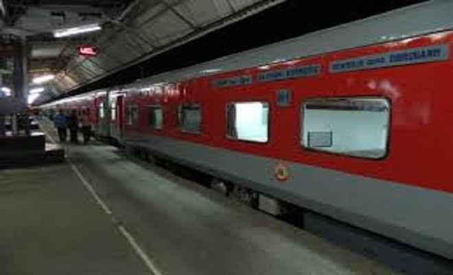 जम्मू-नई दिल्ली राजधानी एक्सप्रेस पटरी से उतरी