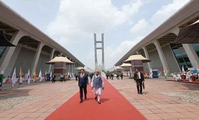 न्यू इंडिया के सपने को साकार करने की प्रतिज्ञा ली है जापान ने: आबे
