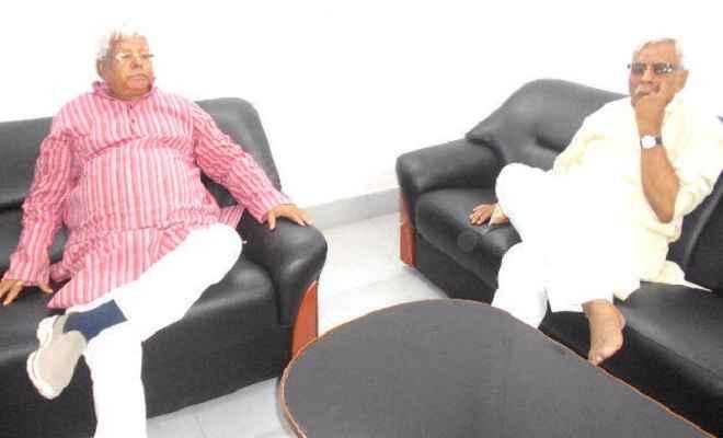 संघर्ष की जरूरत के समय ''चाचा'' का जाना अपूरणीय क्षति : लालू